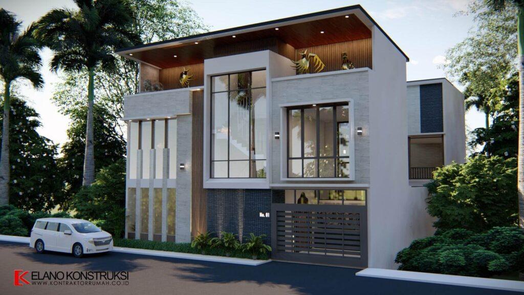 Rumah Dengan Sentuhan Gaya Bali